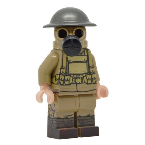 WW1 British Gas mask | LEGO Minifigure | United Bricks